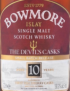 New Booze: Bowmore The Devil's Casks